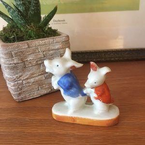Vintage Pig Japan Kitsch Figurine